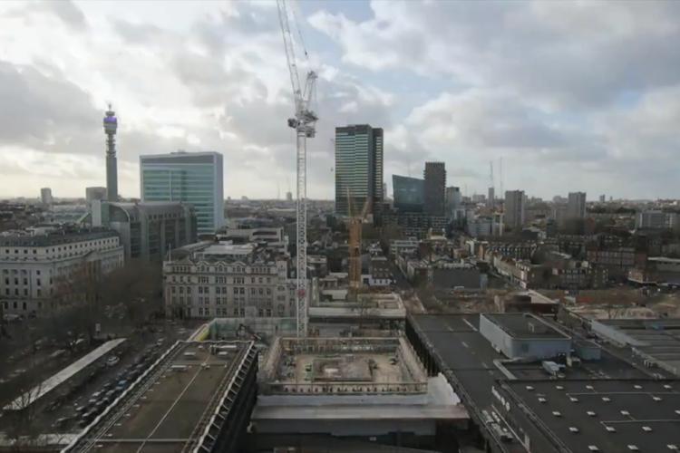 The Euston skyline today