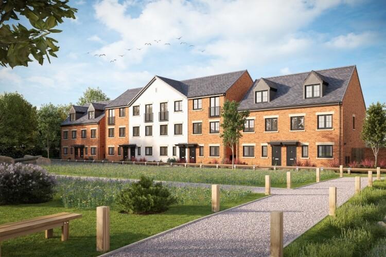 Artist's impression of Keepmoat Homes' planned Warren Wood development in Gainsborough