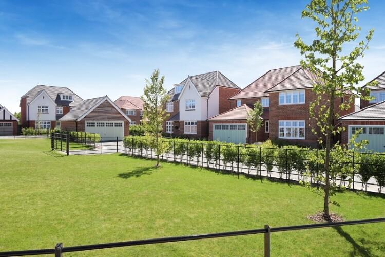 Redrow's Ashdown Vale development, also in Barnham
