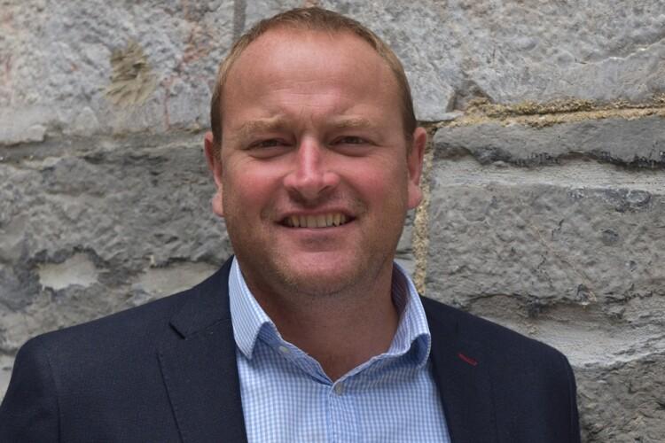 New managing partner James Beckly