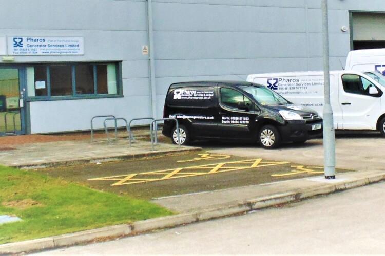 Pharos Generator Services' premises in Runcorn