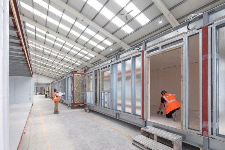 Inside Premier Modular's factory in Driffield