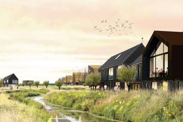 Artist's impression of RLW Estates' planned housing in Waterbeach (Credit: LDA-RLW)