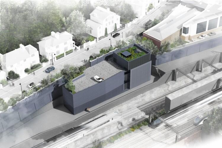 The chosen design for HS2's Euston headhouse